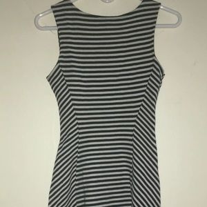 Divided by H&M striped Dress Sz 6